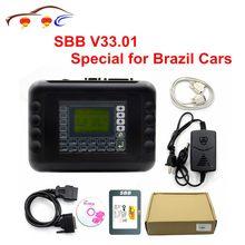 Programador de chaves automotivas, programador de chaves de carro v33.01 sbb para multimarca, brasil, carro sbb silca v33.01 mais função do que v33.02