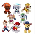 20cm plush toys puppy canine pata figure action birthday party set everest car Canine Patrol Puppy Patrulla Juguetes dog canina