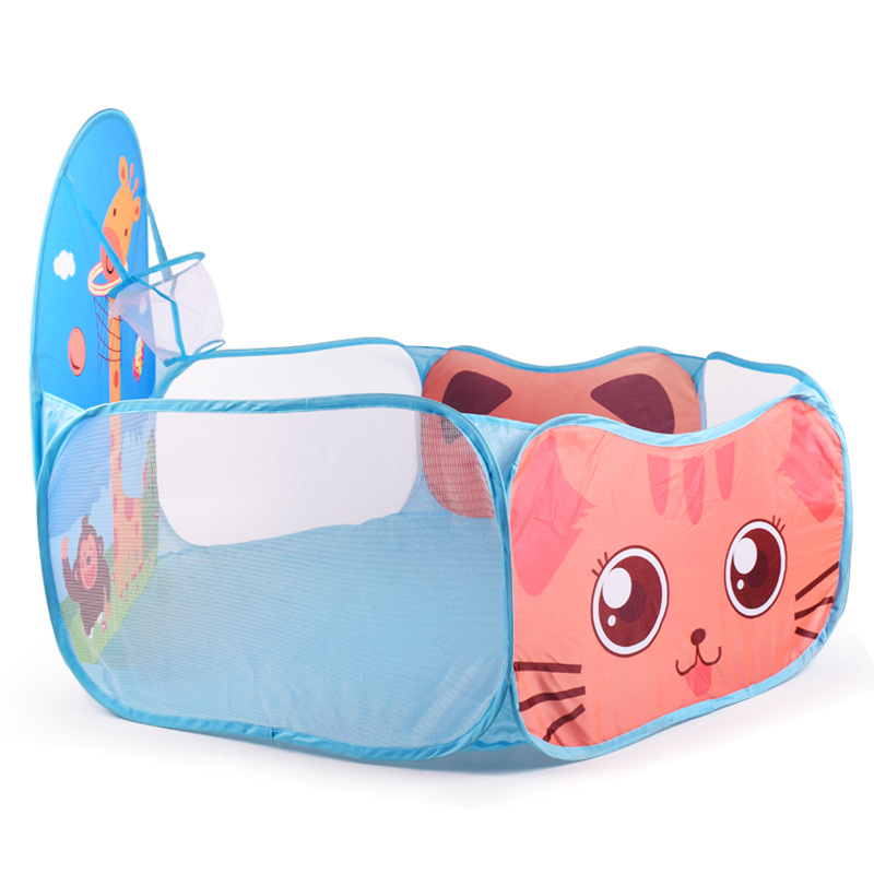 Cute Foldable Children Kids Play Tent Ocean Ball Pool BOBO Ball Pit Kids Playhouse Set Toy Baby Door Playing Toys Gifts
