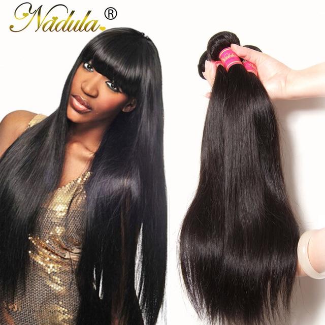 Волосы девственницы Индийские Прямо 7А Индийский Девственные Волосы 8-30 дюймов Необработанные Индийские Прямые Девы Пучок Волос Дешевые Человека Плетение волос