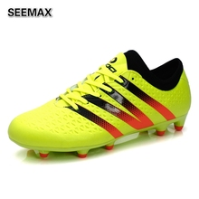 2016 Men's Soccer Cleats Outdoor Soccer Shoes FG AG SG Sport Football Boots Football Shoes Training Sneakers