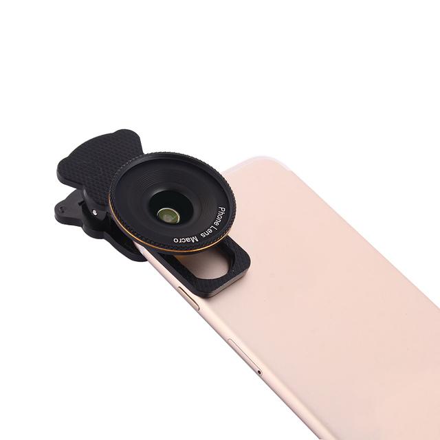 KRY teléfono móvil Lentes Lentes Macro Súper Teléfono Móvil Schott Glaswerke 20X lente macro para iphone 5s iphone 6 6 s 7 plus lente