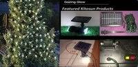 Hurtownie deft projekt 2/lot 100 led string fairy lights baterii zasilany energią słoneczną krajobrazu światła słonecznego używać do easterdecor
