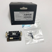 Genuine DJI Phantom 4 Pro Part 2   Aircraft Power Interface Board Module Port with Screws Mounting Piece for Replacement
