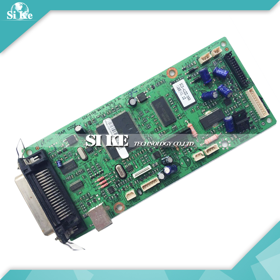 Laser Printer Main Board For Samsung SCX-4100 SCX 4100 SCX4100 Formatter Board Mainboard Logic Board
