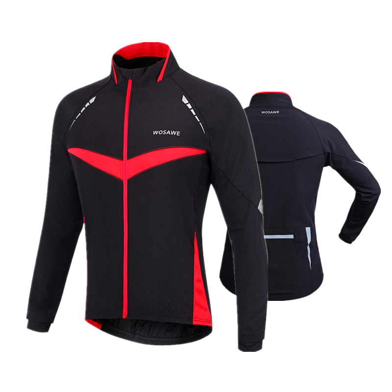 2017 Thermal Cycling Jacket Men Winter Warm Up Fleece Bicycle Cycling Clothing Windproof Waterproof Sports Coat MTB Bike Jersey 2017 santic mens breathable cycling jerseys winter fleece thermal mtb road bike jacket windproof warm quick dry bicycle clothing