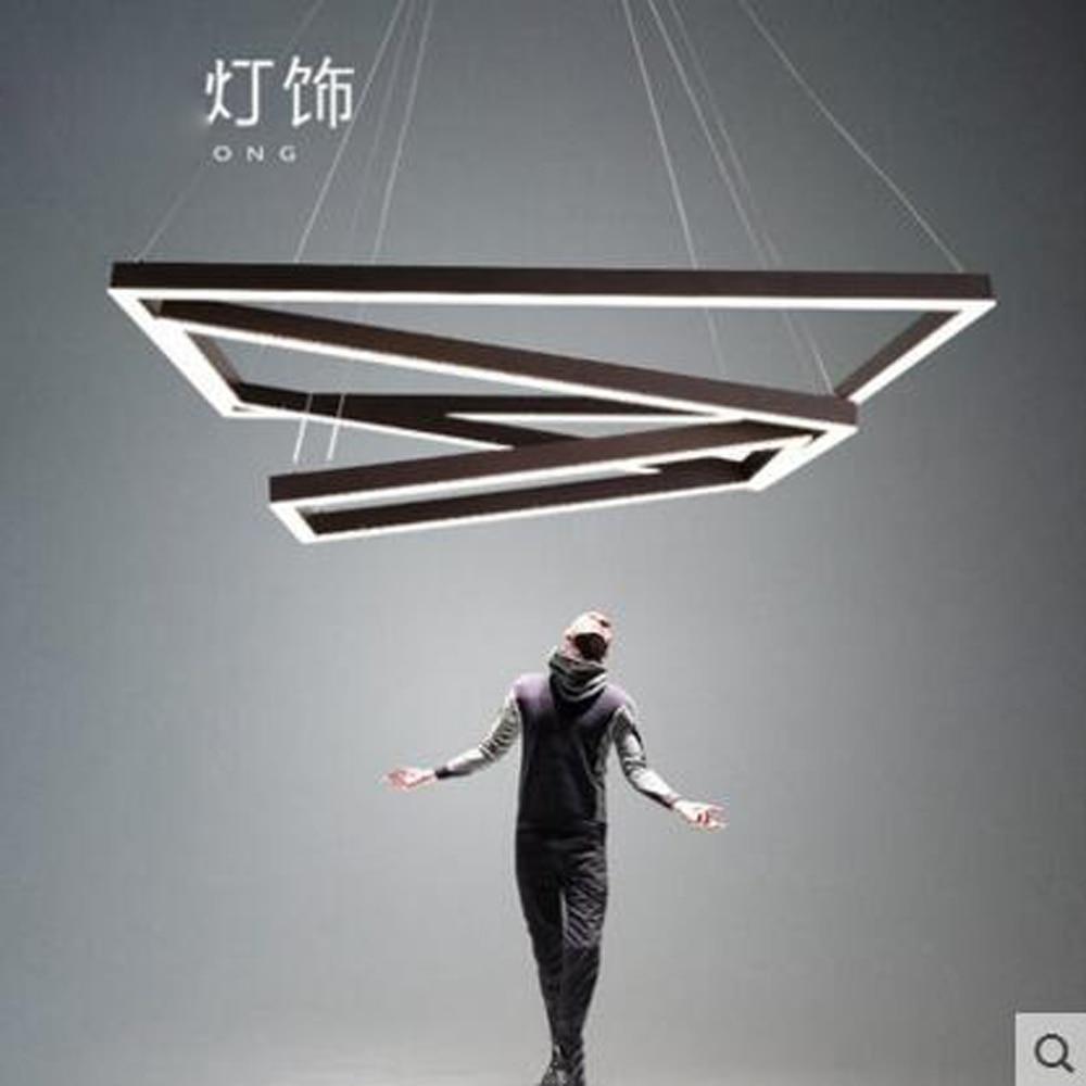 US $899.8 56% di SCONTO|Art LED lampadario creativo postmoderna semplicità  Nordica ristorante lampadario camera da letto ampio soggiorno villa lampade  ...