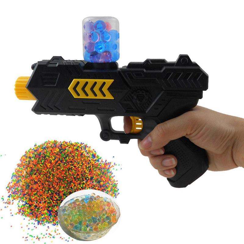 Zwierig 200 Pcs Kleurrijke Paintball Een Pistool Ballen Speelgoed Partij Speelgoed Schieten Water Pistool Bom Crystal Ball Soft Kogels Speciale Water Bullet