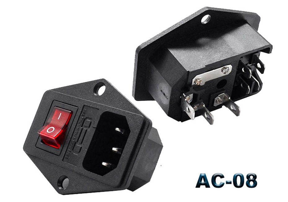10A 250V fuse socket