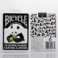 Bicicleta Cubierta Naipes Poker Blanco y Negro Nueva Pandamonium Panda Apoyos Mágicos Trucos de Magia Juguetes 81244
