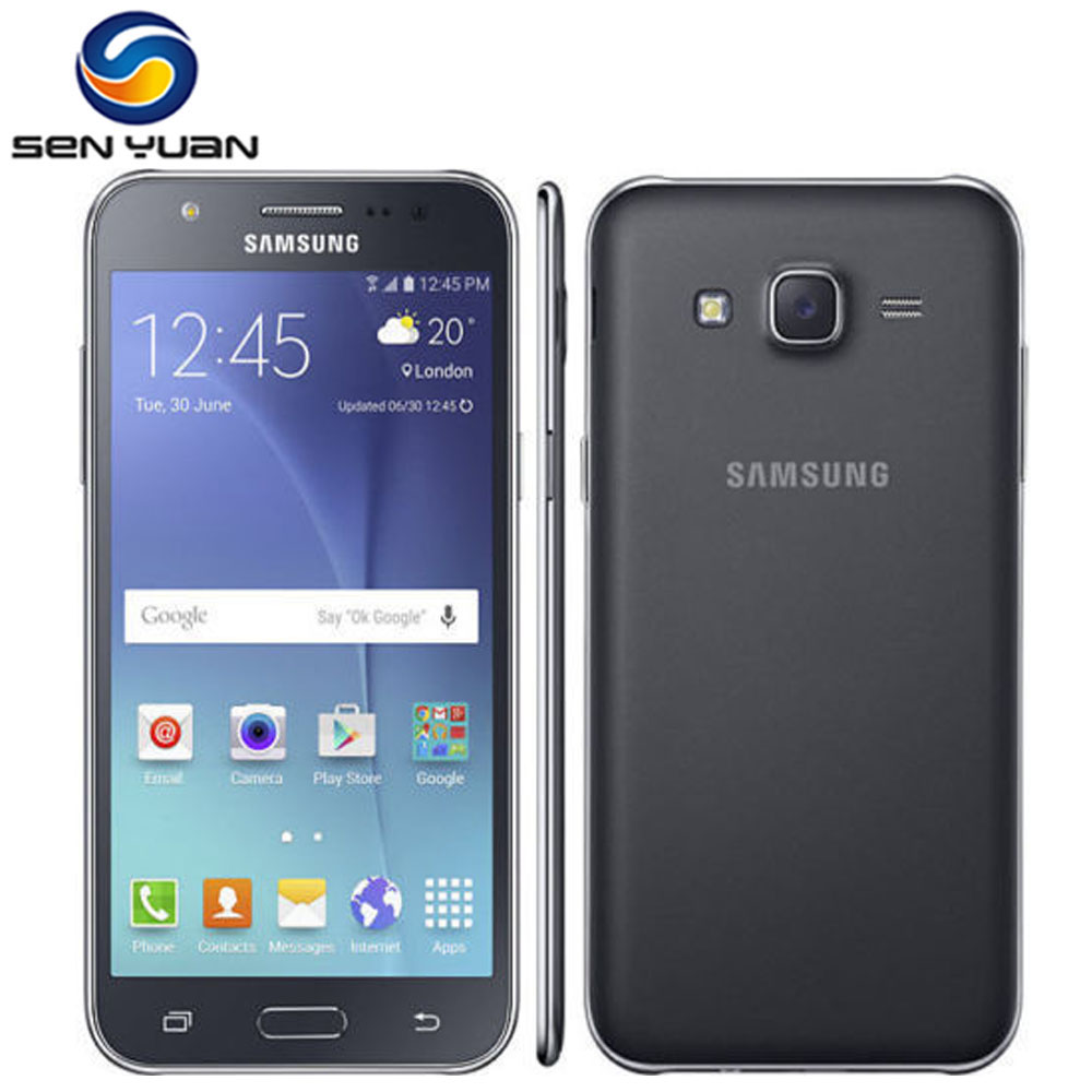 original samsung galaxy j5 dual sim unlocked cell phone. Black Bedroom Furniture Sets. Home Design Ideas