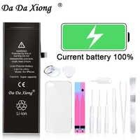 Originale Da Da Xiong Batteria Del Telefono Per il iPhone 6G 6 s Plus. Max Capacità Batterie Ai Polimeri di Litio di Ricambio Bateria strumenti gratuiti
