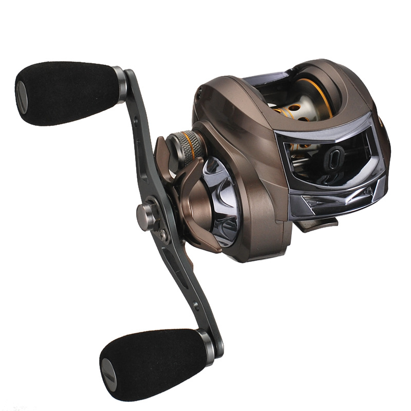 High Quality Baitcast Reel Left/right hand reel Metal handle Multi-color optional Fishing Wheel Pesca high quality left