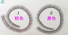 Baby Dolls Accessories 5pcs/lot 8mm width *20cm length eyelashes for 1/3 1/4 BJD doll For Reborn Doll Toy