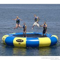 water trampoline 4 M diameter 0.9mm PVC inflatable trampoline or inflatable bouncer