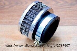 Image 3 - Воздушный фильтр из нержавеющей стали для мотоцикла, 46 мм 48 мм 50 мм 52 мм 54 мм 60 мм, очиститель для SR400 CB550 CB750 Kawasaki KZ650, 1 шт.