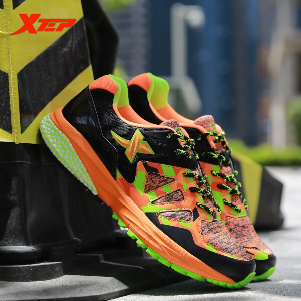 XTEP Brand Running Shoes Mens Athletic Sneakers outdoor gym Trainers Sports Shoes Sneakers 984319119536