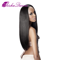 Brazilian Virgin Glueless Lace Front Human Hair Wigs Silky Straight Free Part Lace Front Human Hair Wigs For Black Women