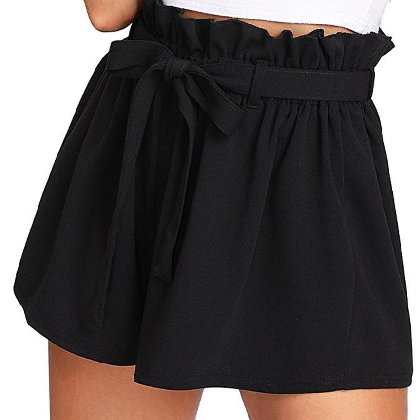 Gepäck & Taschen Trendzone 503 Frauen Casual Elastische Taille Sommer Shorts Jersey Gehen Shorts Freies Verschiffen