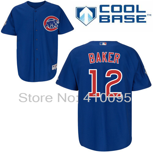 0a91f338f Chicago Cubs 12 John Baker Personalized Home Road Alternate BP Cooperstown  Jersey Cheap Custom Baseball Jerseys-in America Football Jerseys from  Sports ...