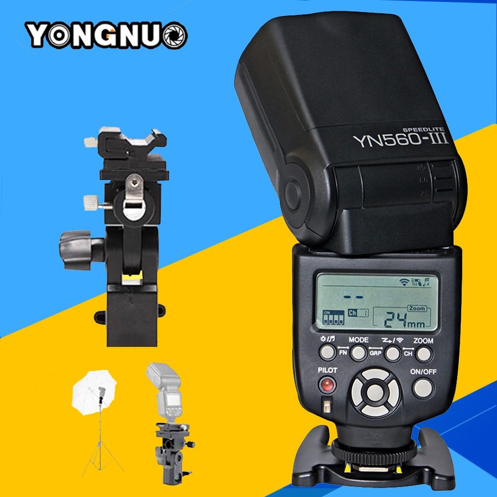Yongnuo YN560 III Speedlite YN560III Flash For Canon Nikon YN560-III Speedlight For Sony A99 A6000 A3000 A7s A7 NEX-6 A6300 A7r yongnuo yn 560 iv yn560 iv universal flash speedlite speedlight for canon nikon sony a99 a58 a6000 a3000 a7s a7 a7r a6300 a6300