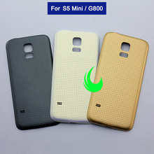 Original Battery Cover Housing For Samsung Galaxy S5 mini G800F G800 Back Cover Rear Door Case Housing For SAMSUNG S5 Mini стоимость