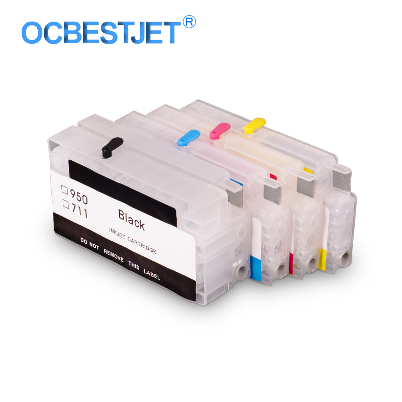 For HP 950 951 950XL 951XL Empty Refillable Ink Cartridge For HP Officejet Pro 8100 8600 8610 8615 8620 8625 8630 251dw 276dw