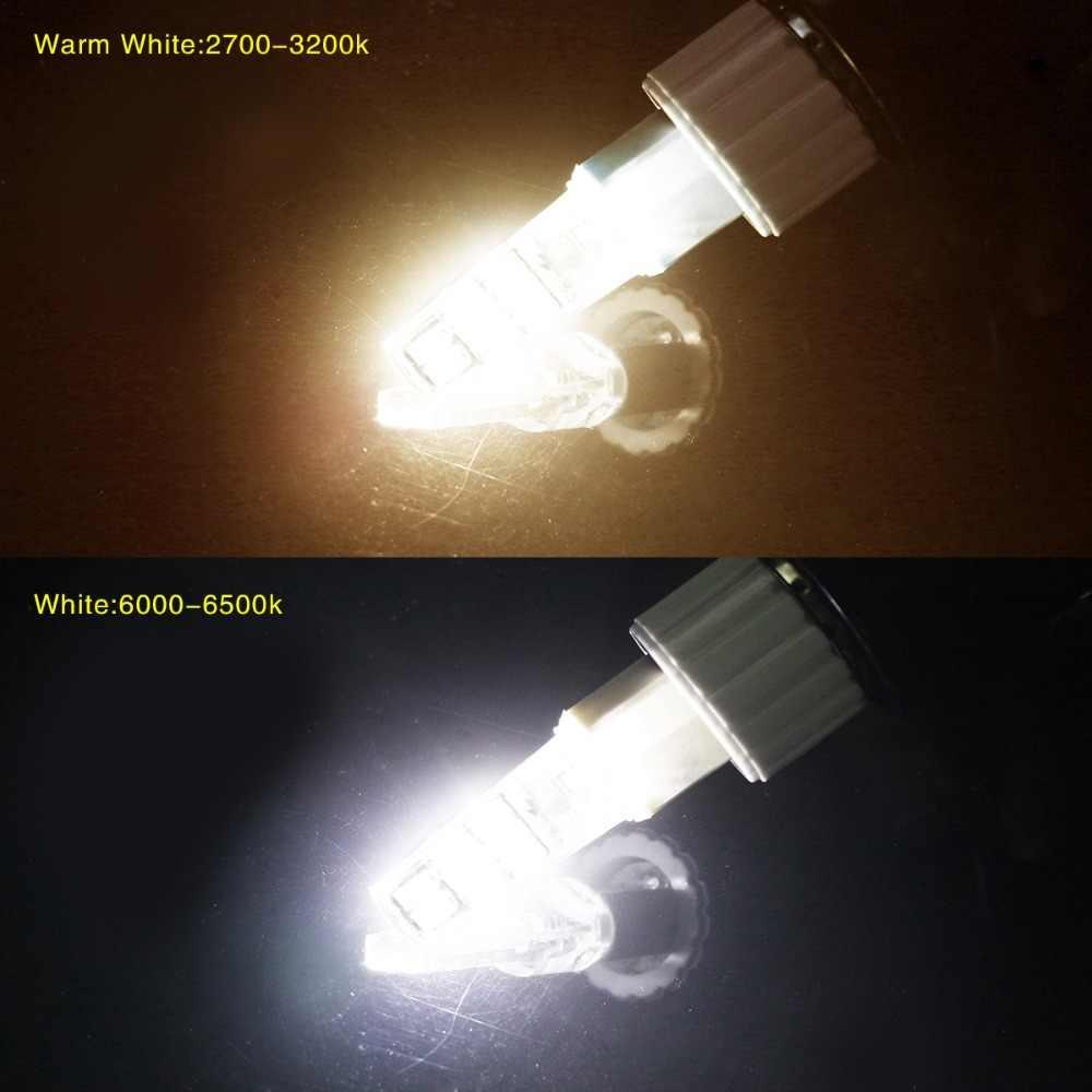 10Pcs G9 LED Lamp 5733 SMD 220V 110V Led G9 Bulb 3W Corn SpotLight Silicone Light lampada de Leds lamps Replace Halogen