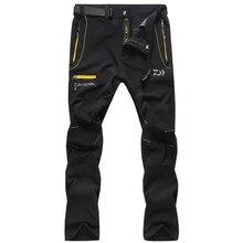Da yiwa Fishing Pants Men's Ultra-Thin Anti-UV Quick-Drying Breathable Stretch Riding Pants High Quality Fishing Clothing