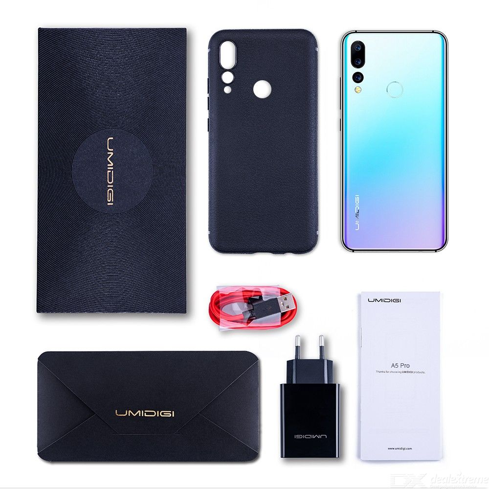 Image 4 - UMIDIGI A5 PRO Android 9.0 Octa Core 32GB 6.3' FHD+ Waterdrop 16MP Triple Camera Dual 4G  4150mAh 4GB RAM 4G Celular Smartphone-in Cellphones from Cellphones & Telecommunications