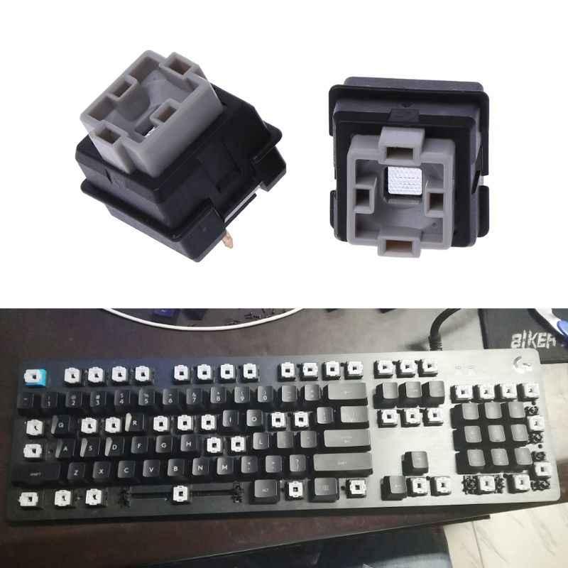 2Pcs Romer-G Switch Omron Axis For Logitech G512 G910 G810 K840 G413 Pro  Keyboard