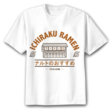 New Naruto shirt designs in several colors