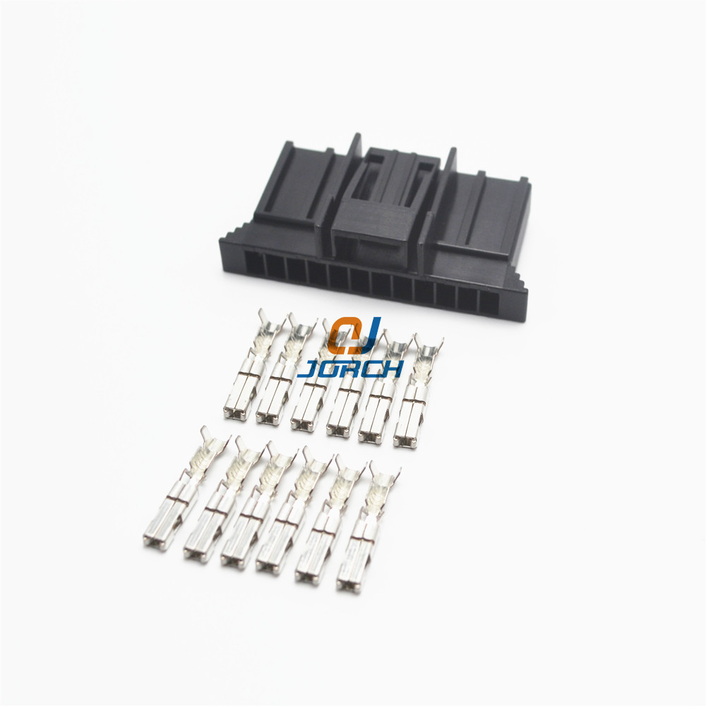 hight resolution of 5 sets 12 pin fci wire harness connector delphi plastic housing plug 211pc122s0017