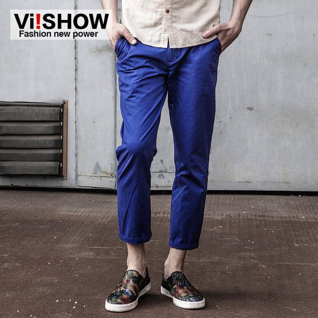 VIISHOW Pantalones de Chándal Para Los Hombres Pantalones Casuales Para Hombre de Negocios Famosa Marca de Los Hombres Ropa Para Hombre pantalon homme