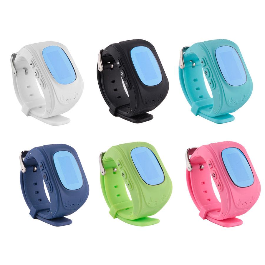 Fuloophi Q50 GPS Kid Children Safe Smart Watch GPS Locator