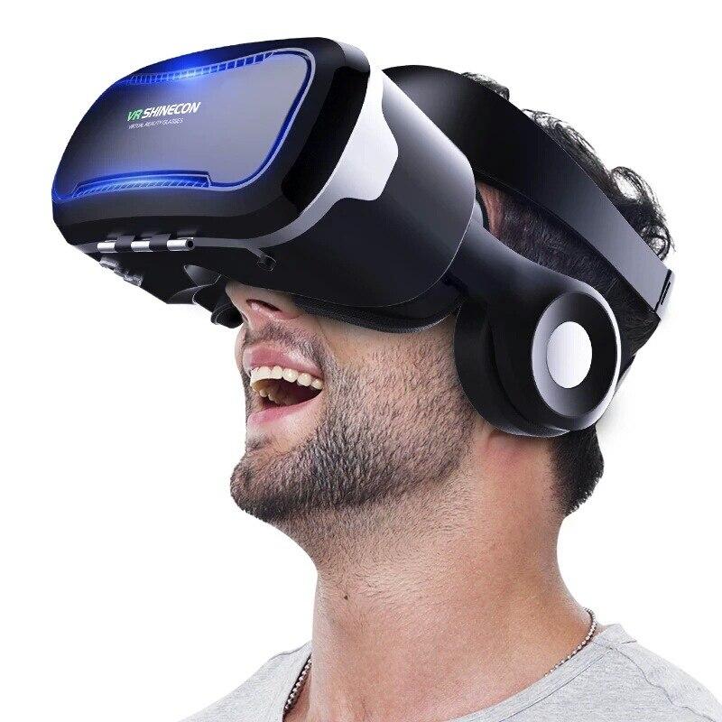 2017 VR Shinecon 4.0 Glasses Reality virtual for 4.7-6.0 inch Smartphone 360 Degree Immersive Virtual Reality 3D Glasses VR Box гитарный усилитель bugera 6262 infinium