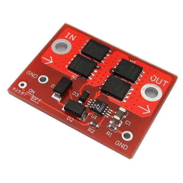 LTC4359 Ideal diode 15A Solar Panel Lade Anti bewässerung Schutz Relais Board Controller 4 70v