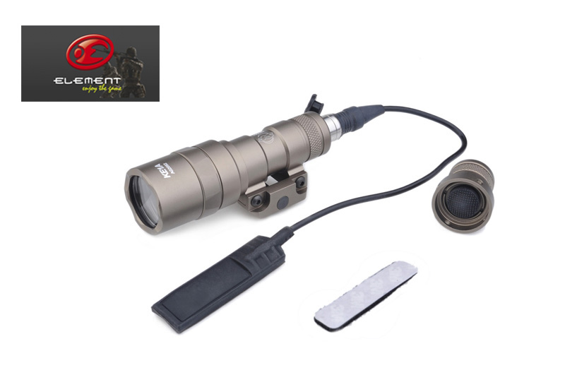 Element SF M300B Mini Scout Light New Version Compact Tactical Rail Weapon Light+Free shipping(E04059)