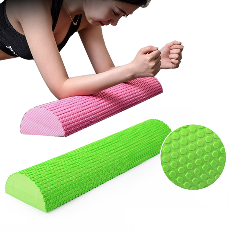 Yoga Column Fitness Pilates EVA Roller Yoga blocks Training Gym Massage Grid Trigger Point Therapy Physio Exercise