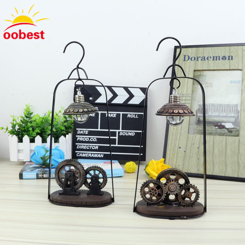 oobest 1X LED Light Night Lights Table Lamp Luminarias Christmas Decoration Luz De iron LED Night light chrismas for home