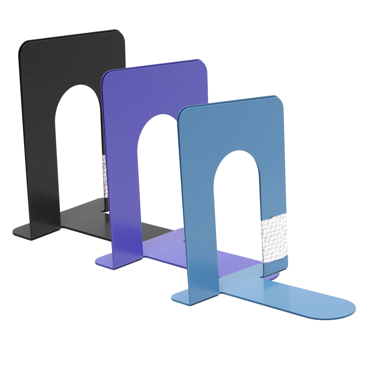 Wholesale 2 X Cheap Durable Heavy Duty Metal Book End Shelf Bookend Holder Office School Supplies Stationery Student Good Helper In Bookends From
