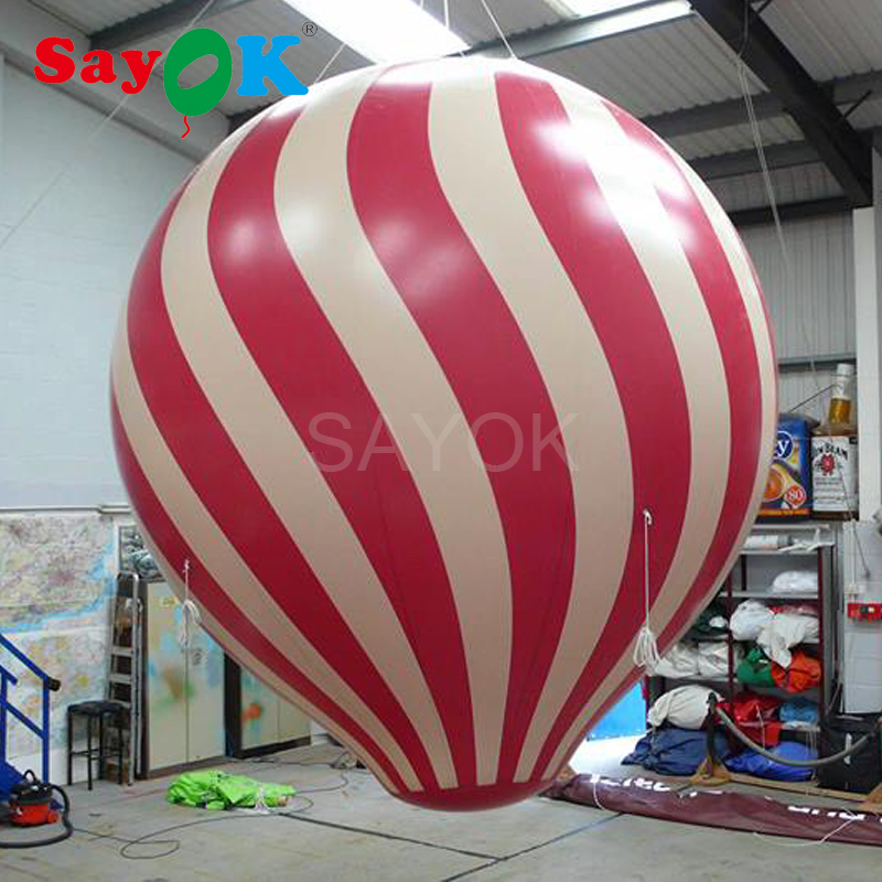 High Quality Helium Balloon 2m 3m Inflatable Advertising Balloons Inflatable PVC Ball for Events Festivals Advertising