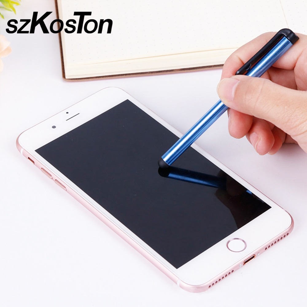 10pcs Mini Capacitive Touch Screen Stylus Pen Touchscreen Pen For IPhones/iPads/iPods/Windows Tablets/PCs/Android Phones/Tablets