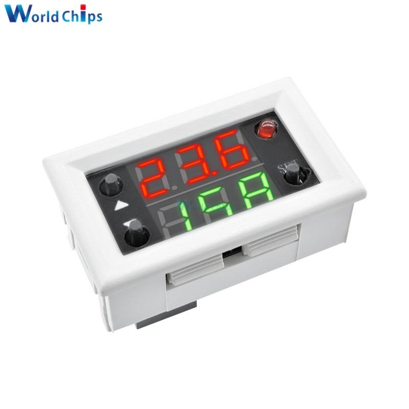 Mini 12V 20A Digital LED Dual Display Timer Relay Module Timing Delay Cycle