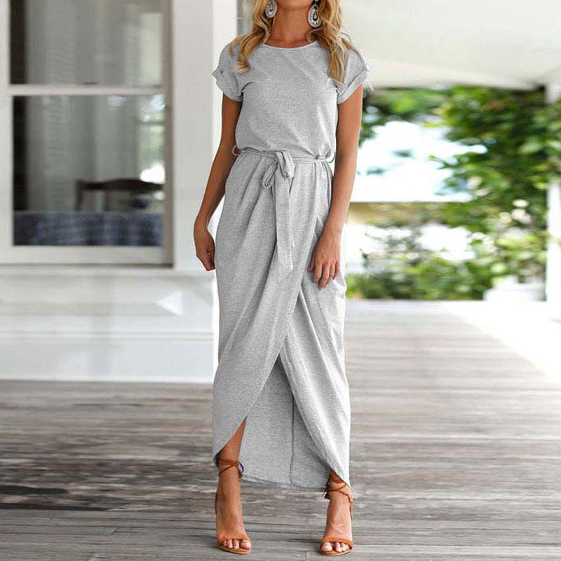 19 Plus Size Party Dresses Women Summer Long Maxi Dress Casual Slim Elegant Dress Bodycon Female Beach Dresses For Women 3xl 12