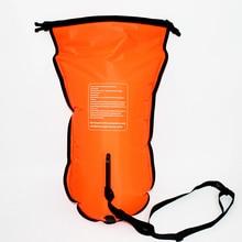 Надувной плавательный мешок Флотационная сумка водонепроницаемый ПВХ нейлоновый матерчатый мешок для хранения спасательный круг буй предотвратить утопление