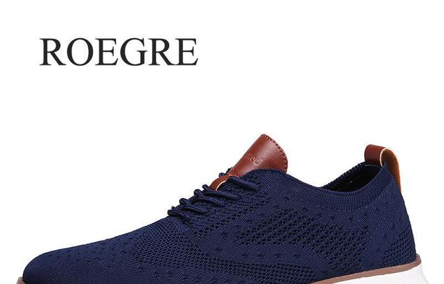 Повседневная трикотажная Мужская обувь из сетчатого материала Однотонная легкая мягкая обувь для мужчин на шнуровке дышащая мужская обувь... 1