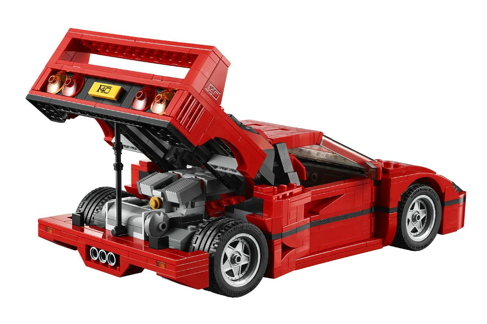 New DIY LEPINE Model Creator Expert F40 Kit Sports Car Building Kits Bricks Toys education block toy gift for children lepine 16008 cinderella princess castle 4080pcs model building block toy children christmas gift compatible 71040 girl lepine