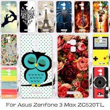TAOYUNXI Silicon Plastic Phone Case For Asus Zenfone 3 Zenfone3 Max ZC520TL X008D Zenfone Pegasus 3 Horse 3 X008 Bag Case Cover