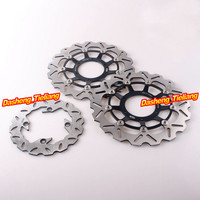 Front Rear Brake Disc Rotors Set For Honda CBR 600RR /ABS 2009 2010 2011 2012 2013 2014 2015 & CBR1000RR 2004 2005